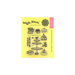 Sweet Treats, Waffle Flower Clear Stamps - 653341238535