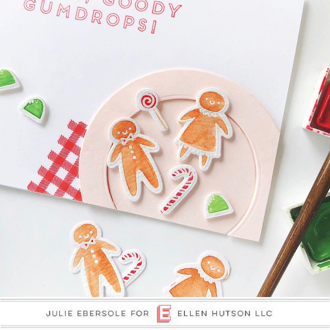 Ginger House by Julie Ebersole, Essentials By Ellen Clear Stamps -