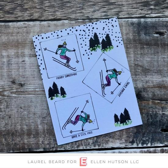 Mountain Holiday by Julie Ebersole, Essentials By Ellen Clear Stamps -