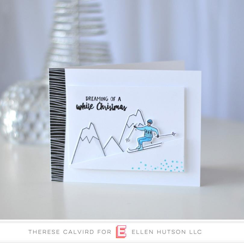 Winterscapes by Julie Ebersole, Essentials By Ellen Clear Stamps -