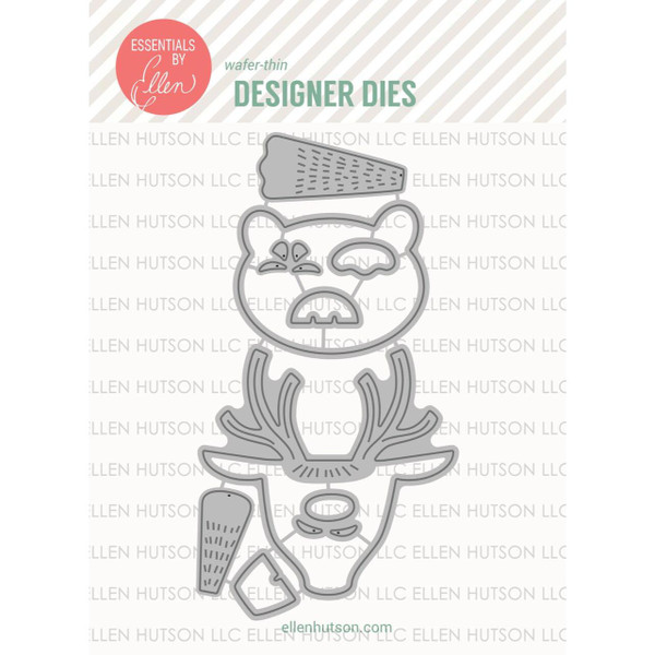 Animal Box Toppers by Julie Ebersole, Essentials By Ellen Designer Dies -