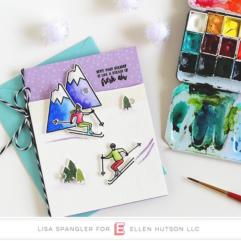 Mountain Holiday by Julie Ebersole, Essentials By Ellen Designer Dies -