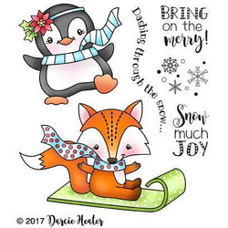 Snow Much Joy, Darcie's Clear Stamps (Retiring) -