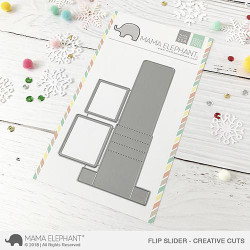 Flip Slider, Mama Elephant Creative Cuts -