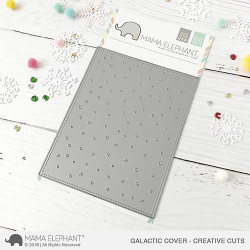 Galactic Cover, Mama Elephant Creative Cuts -