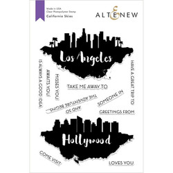 California Skies, Altenew Clear Stamps - 655646173092