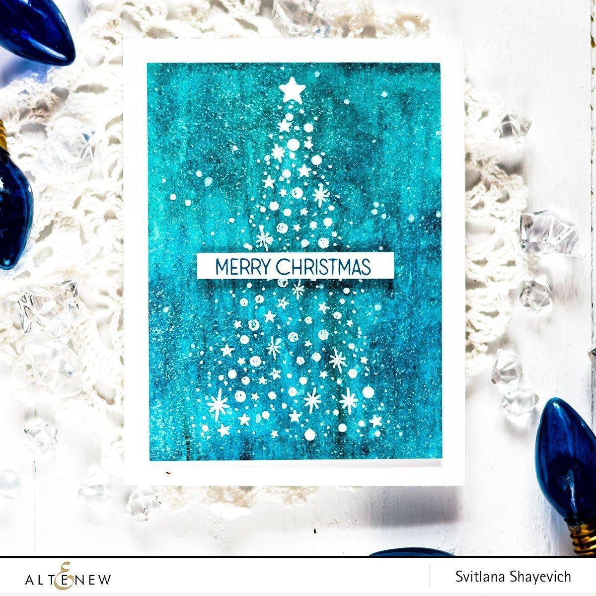 Starry Night, Altenew Clear Stamps - 655646173191