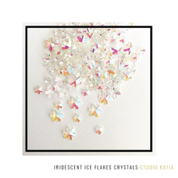 Iridescent Ice Flakes, Studio Katia Crystals -