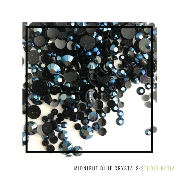 Midnight Blue, Studio Katia Crystals -