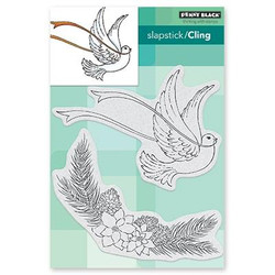 Joy Of Peace, Penny Black Cling Stamps - 759668406432