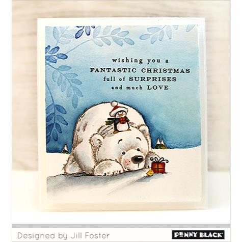 Arctic Friends, Penny Black Clear Stamps - 759668305193