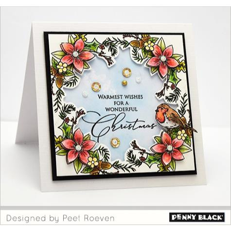 Joyful Holiday, Penny Black Clear Stamps - 759668304974