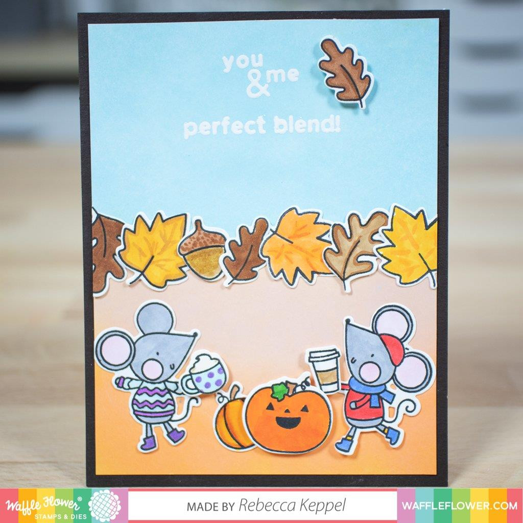 Hello Pumpkin, Waffle Flower Clear Stamps - 653341239839