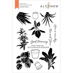 Potted Plants, Altenew Clear Stamps - 704831293982