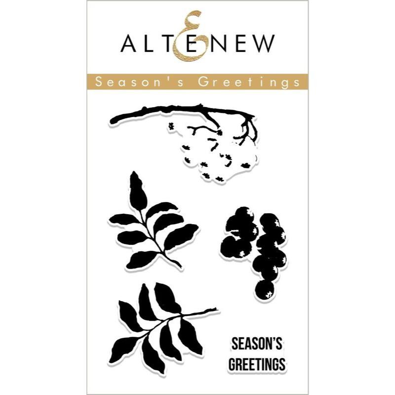 Season's Greetings, Altenew Clear Stamps - 704831294026