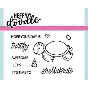 Shellabrate, Heffy Doodle Clear Stamps - 5060540220639