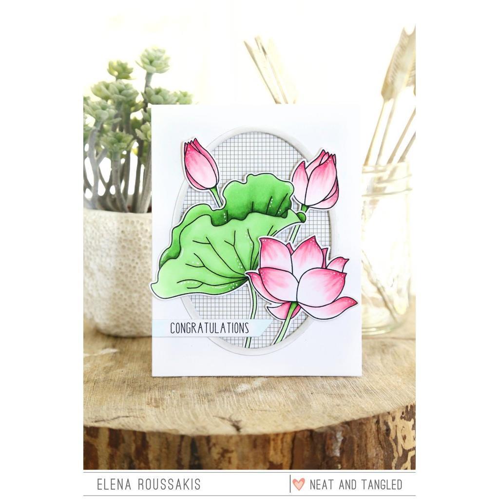 Lovely Lotus, Neat & Tangled Dies - 817360022937