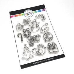 Holiday Charm, Catherine Pooler Clear Stamps - 819447022571
