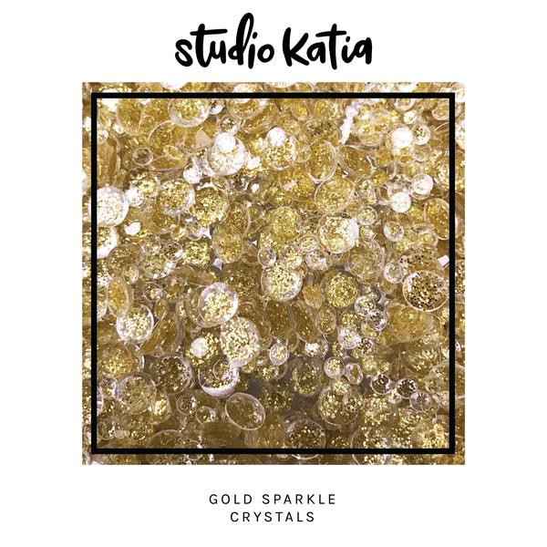 Gold Sparkle, Studio Katia Crystals -