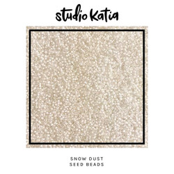 Snow Dust, Studio Katia Seed Beads -