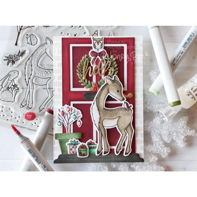 Silent Night, Honey Bee Clear Stamps - 652827598972