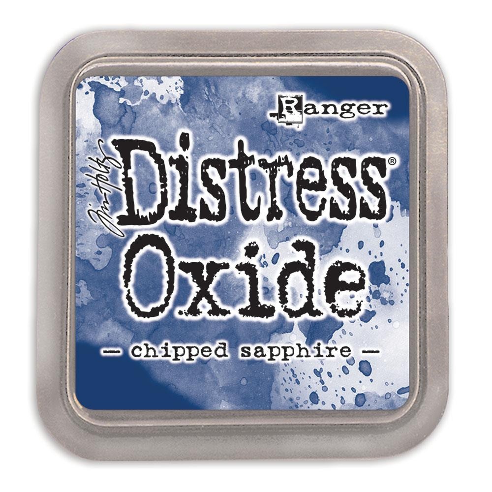Ranger Distress Oxide Ink Pad, Chipped Sapphire - 789541055884