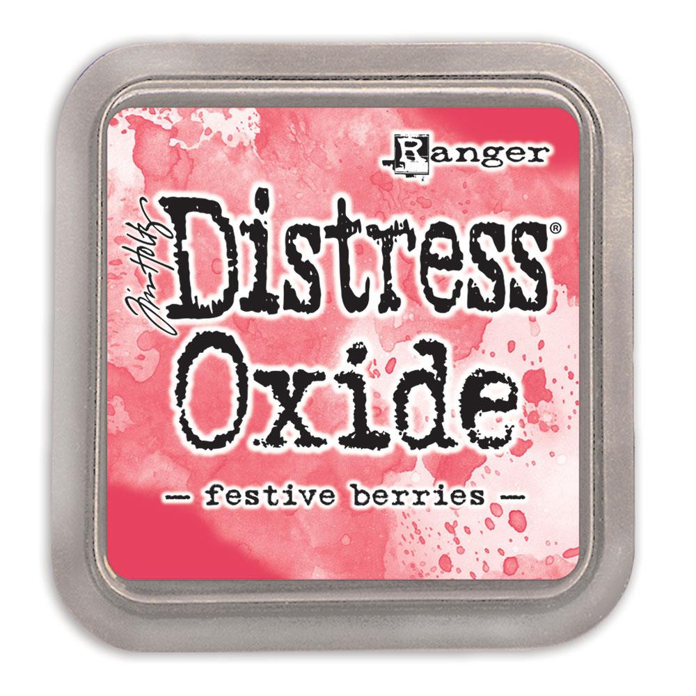Ranger Distress Oxide Ink Pad, Festive Berries - 789541055952