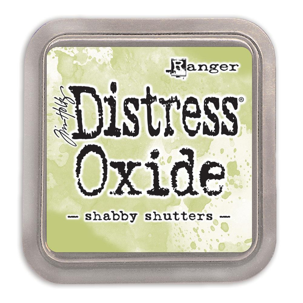 Ranger Distress Oxide Ink Pad, Shabby Shutters - 789541056201