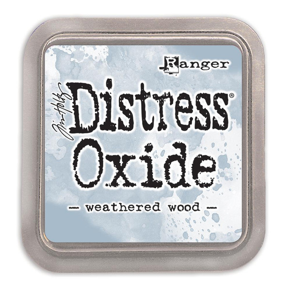 Ranger Distress Oxide Ink Pad, Weathered Wood - 789541056331