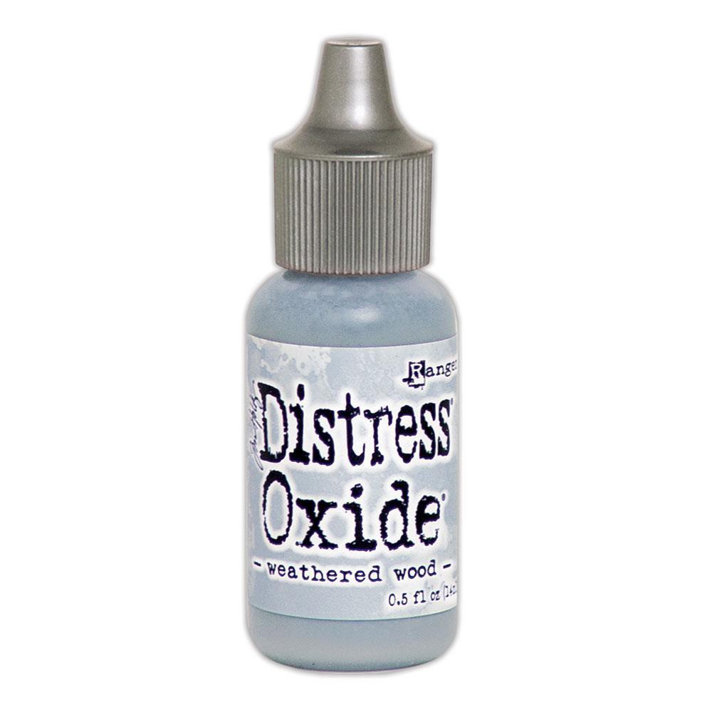 Ranger Distress Oxide Reinker, Weathered Wood - 789541057437