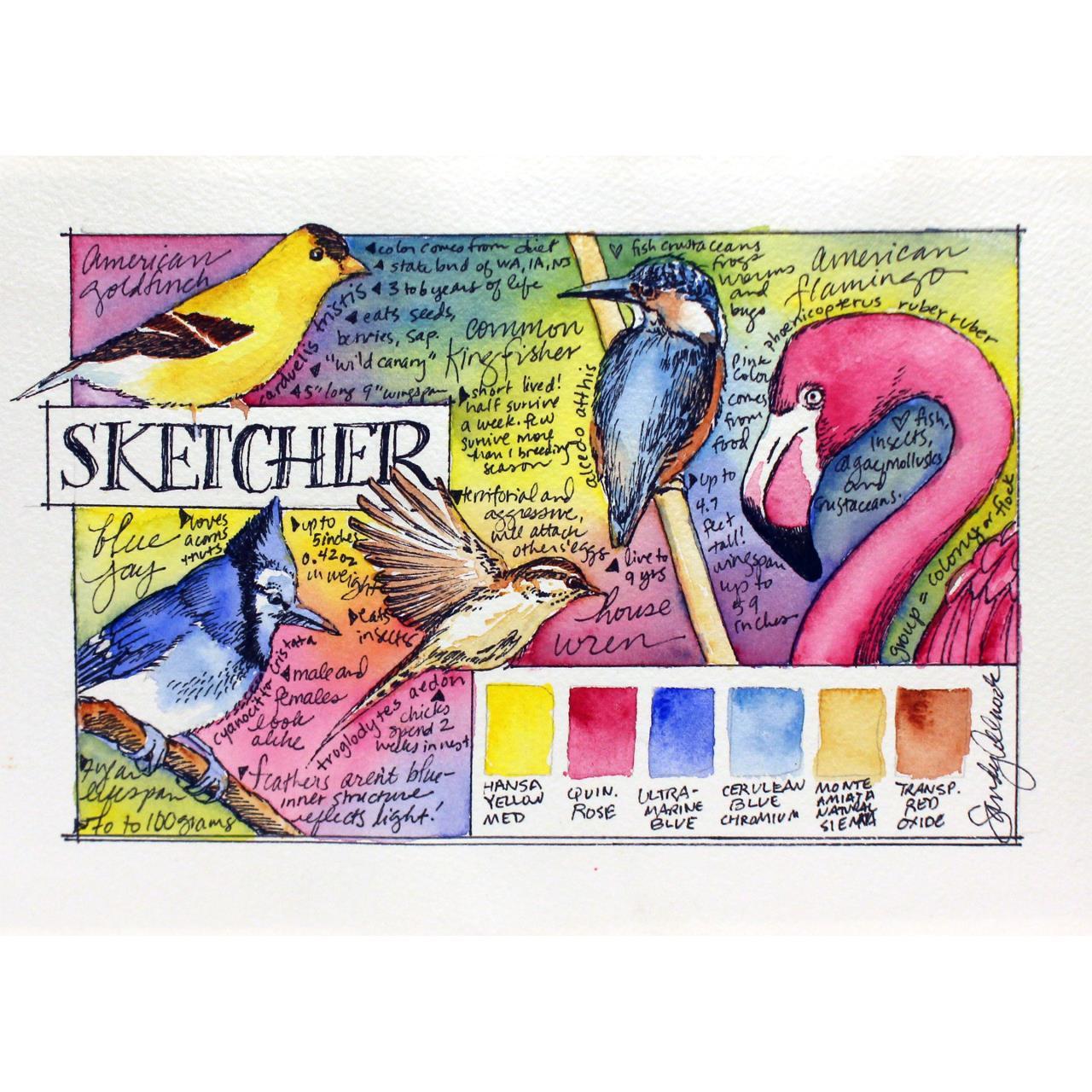 Sketcher, DANIEL SMITH Extra Fine Watercolors Half Pan Set - 743162034062