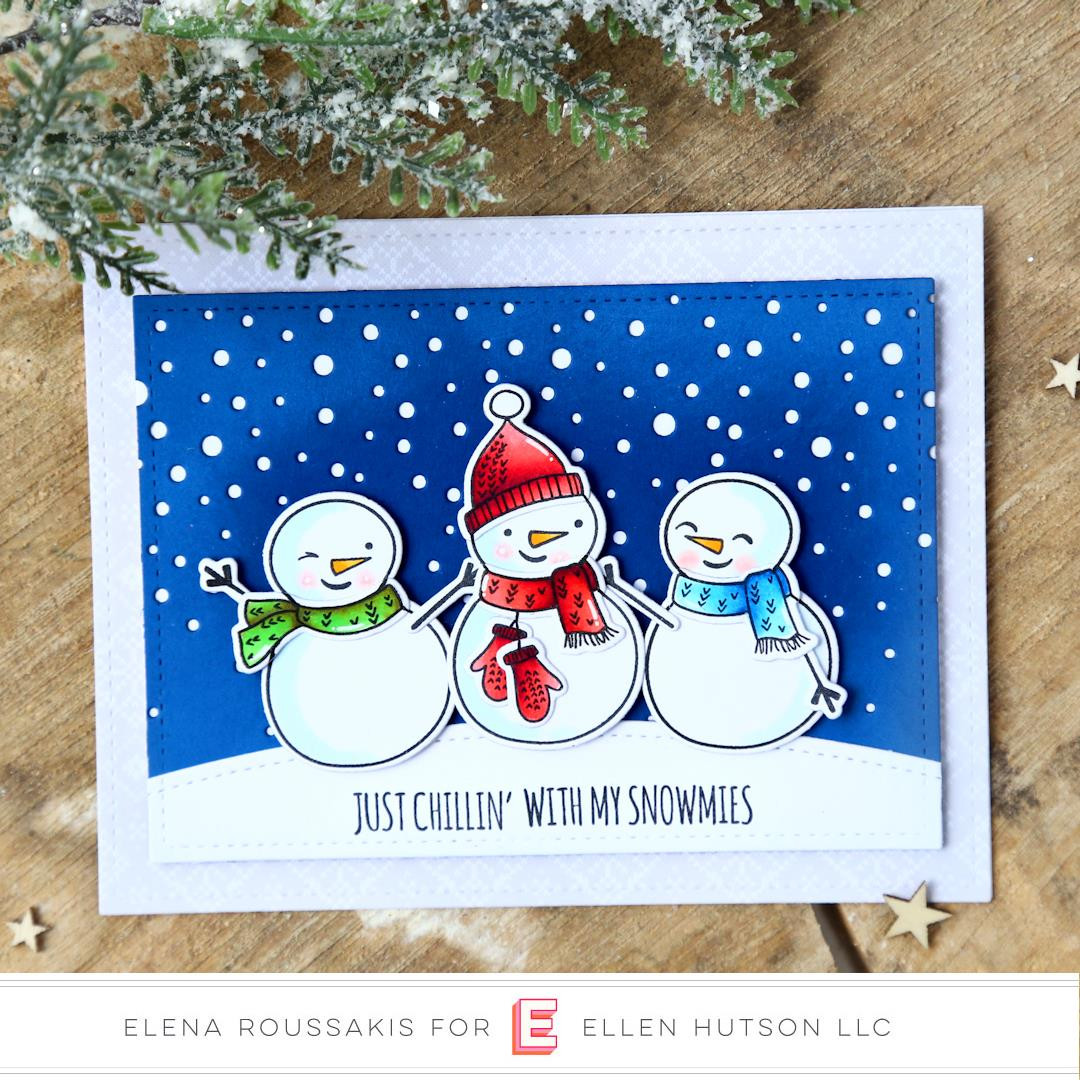 Snow Buds by Julie Ebersole, Essentials By Ellen Designer Dies -