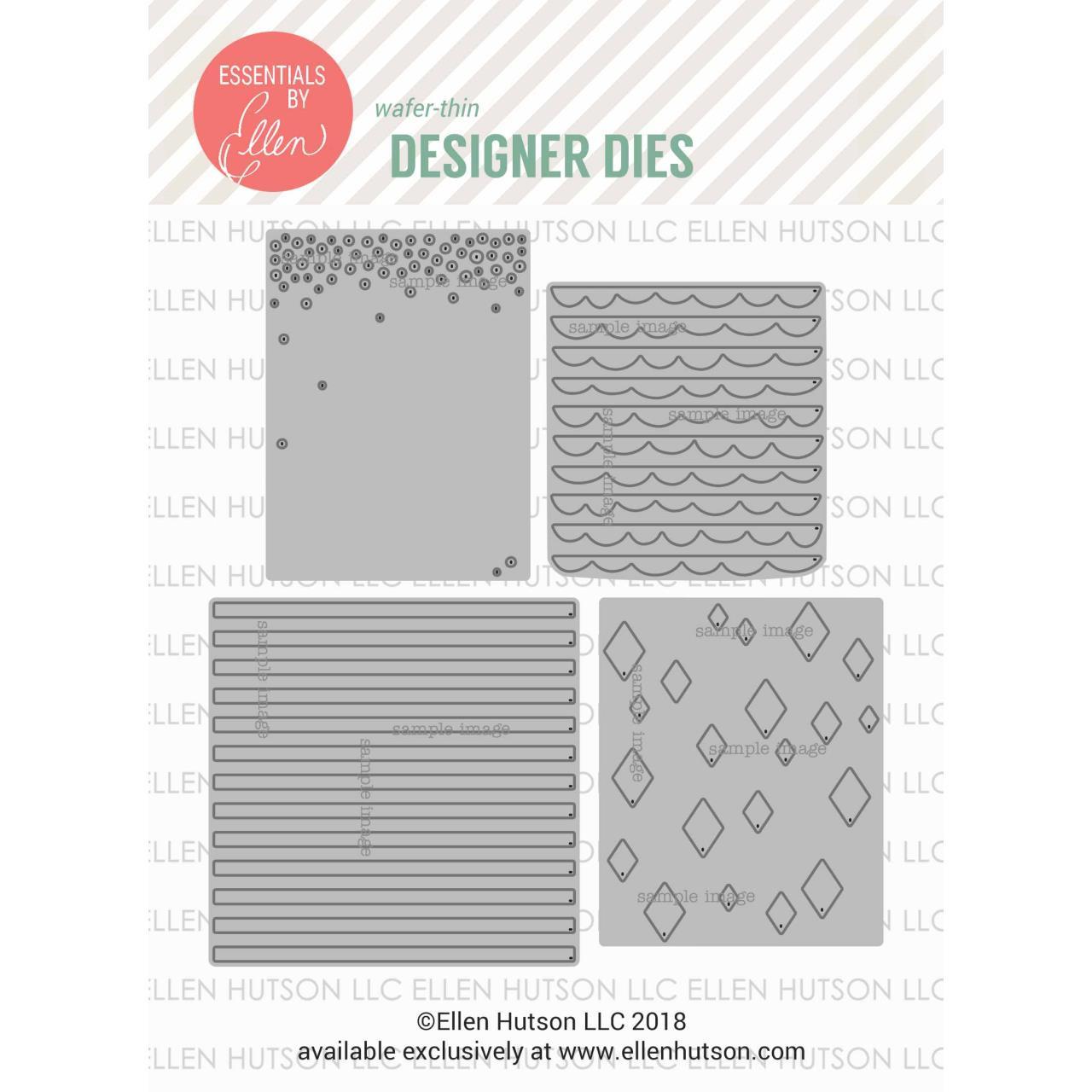 Pattern Dies by Julie Ebersole, Essentials By Ellen Die Combo -