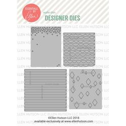 Pattern Dies by Julie Ebersole, Essentials By Ellen Die Combo -