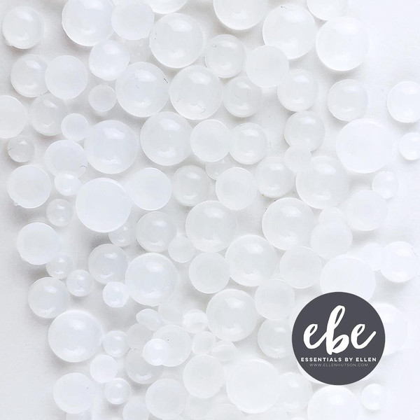 Snowball Droplets, Essentials by Ellen Embellishments -