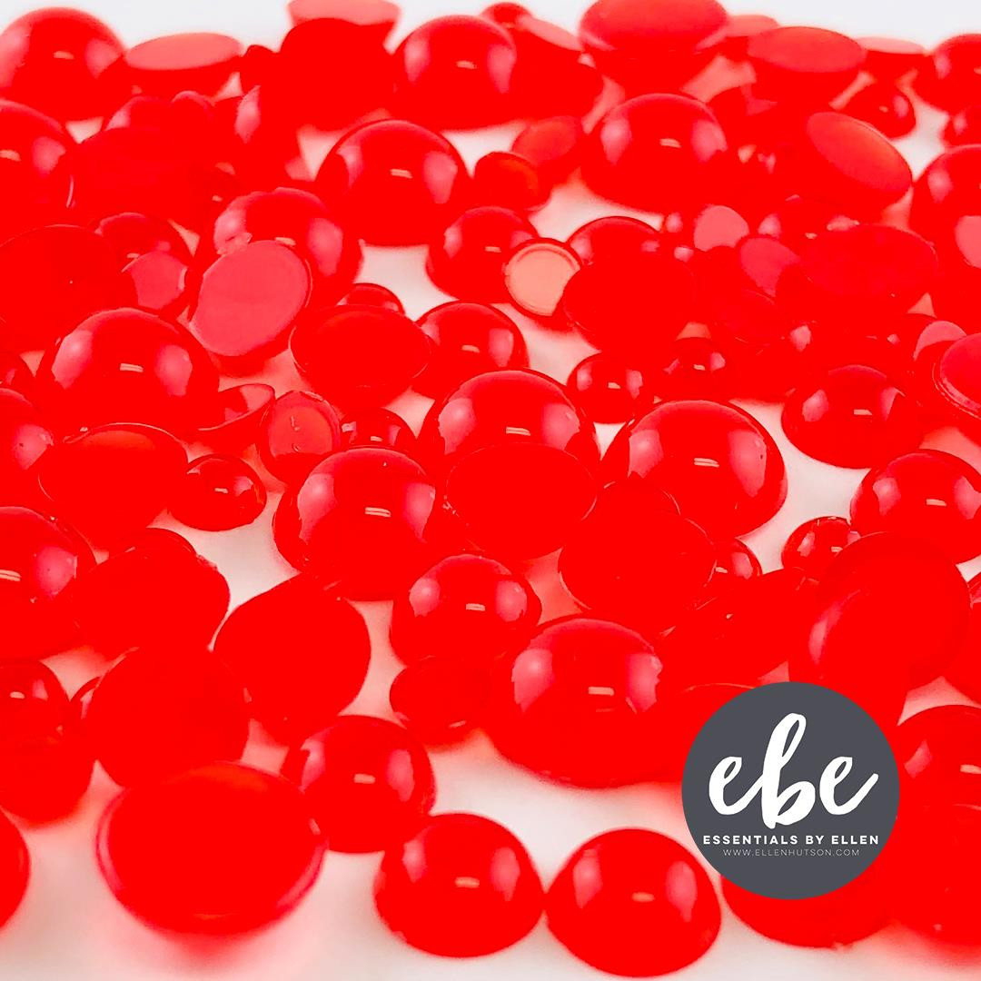 Red Droplets, Essentials by Ellen Embellishments -