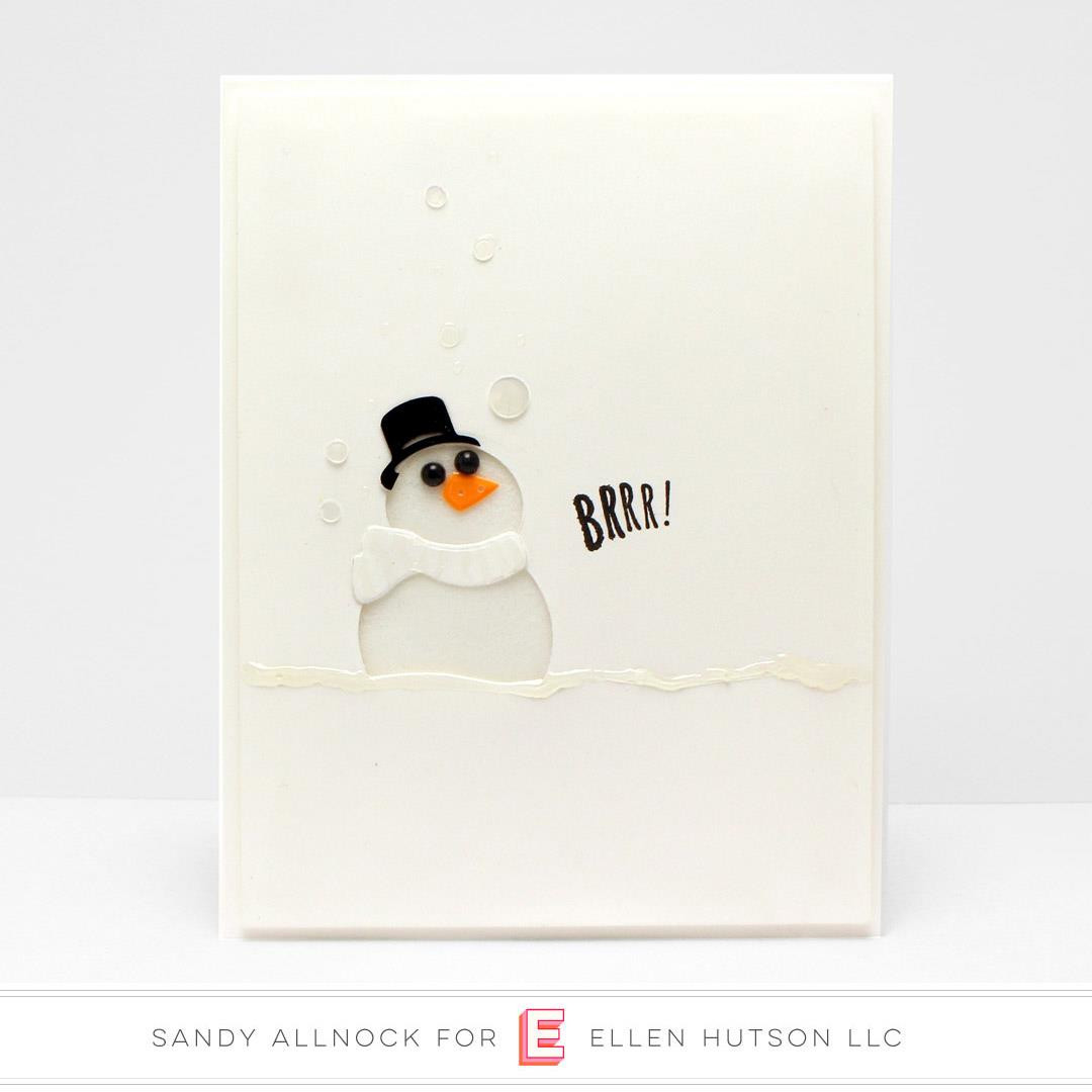 Melted Snowman Mix, Essentials by Ellen Embellishments -