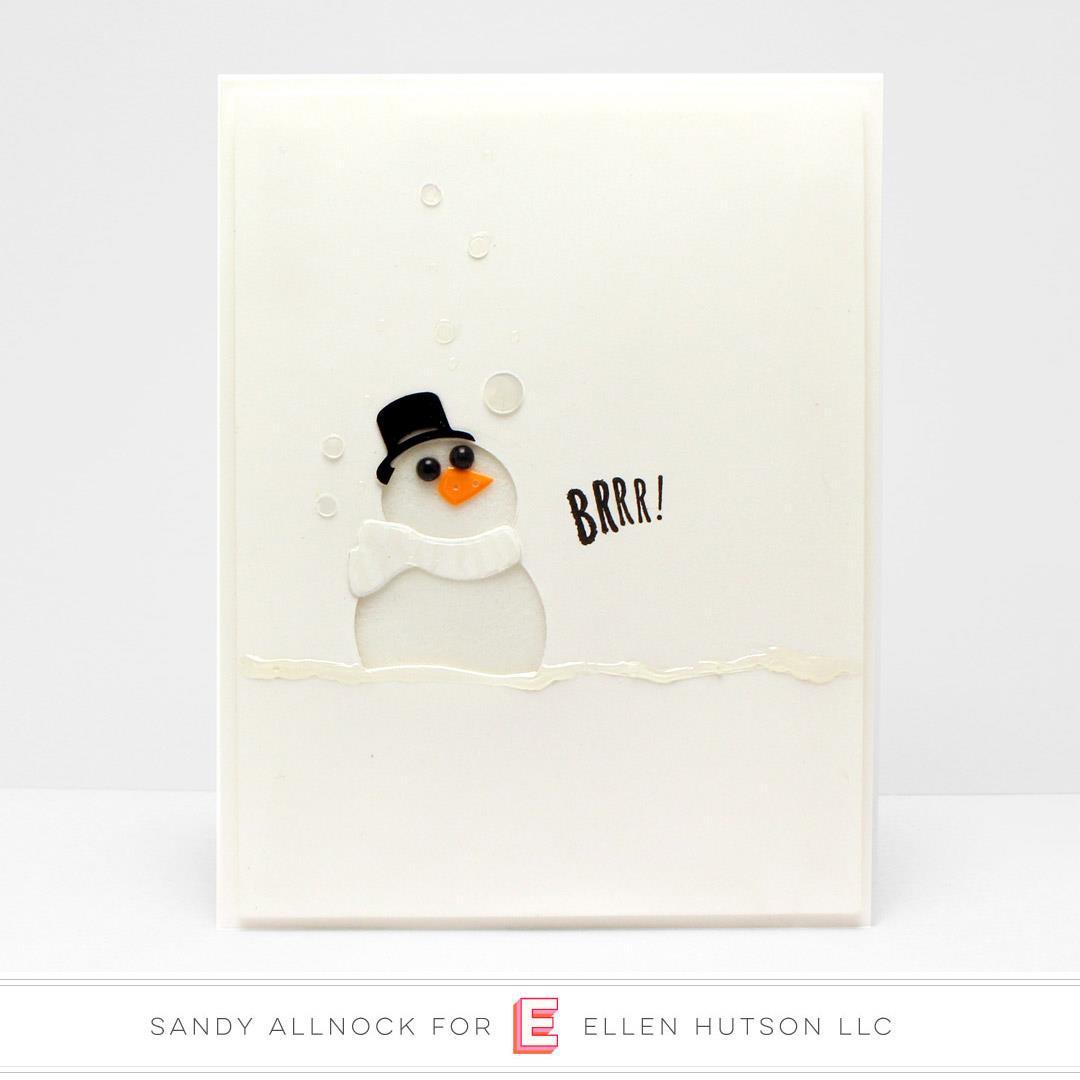 Melted Snowman Mix, Essentials by Ellen Embellishments -