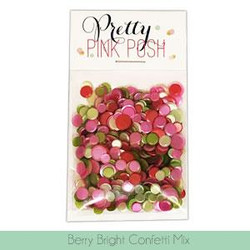Berry Bright, Pretty Pink Posh Confetti Mix -