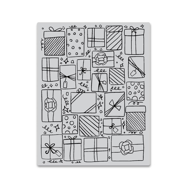 Presents Background, Hero Arts Cling Stamps - 857009196162