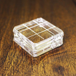 "Clear Acrylic Block 1.5"" X 1.5"" Square, Catherine Pooler - 819447020782"