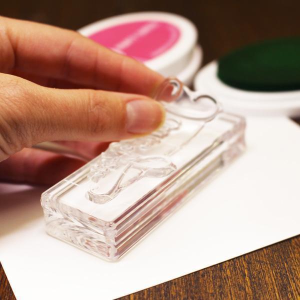Clear Acrylic Block 1.25' X 3.5' Rectangle, Catherine Pooler -