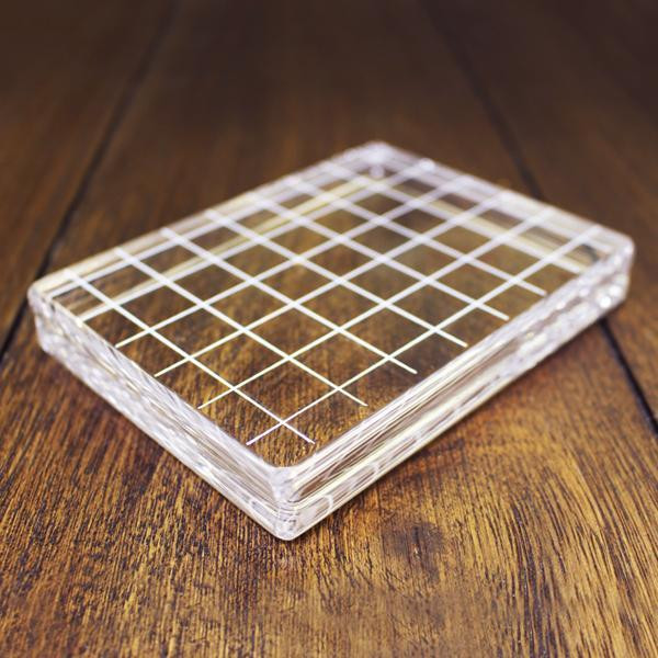 "Clear Acrylic Block 3.25"" X 4.25"" Rectangle, Catherine Pooler - 819447020805"
