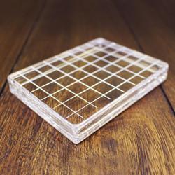 "Clear Acrylic Block 3.25"" X 4.25"" Rectangle, Catherine Pooler - 819447020805"