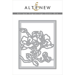 Antique Engravings Cover, Altenew Dies - 704831295702