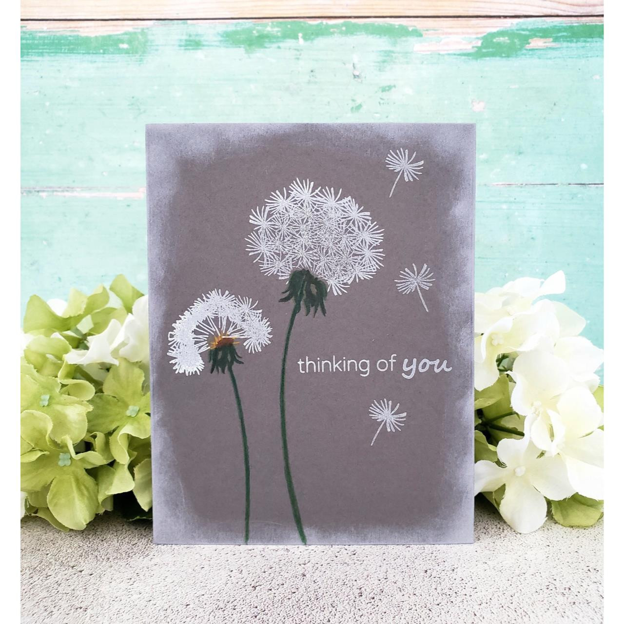 Dandelion Wishes, Altenew Clear Stamps - 704831295498