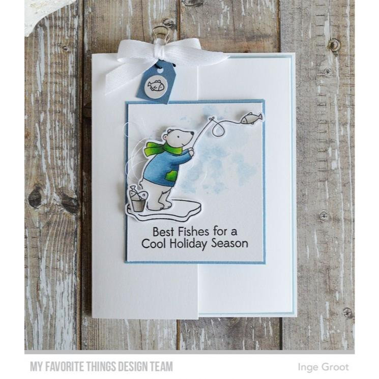 Beary Best Friends, My Favorite Things Clear Stamps - 849923028810