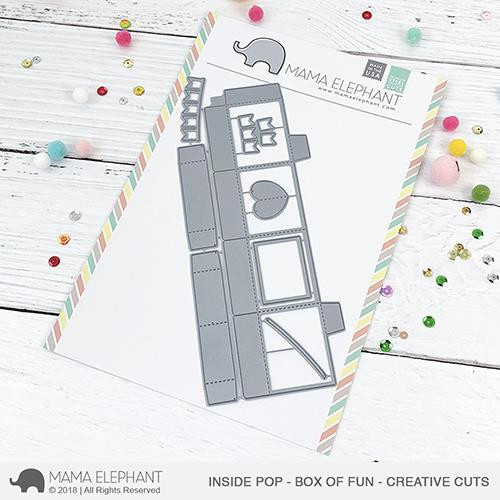 Inside Pop - Box of Fun, Mama Elephant Creative Cuts -