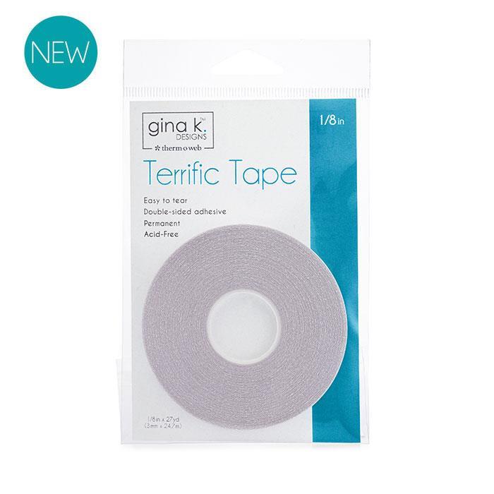 Terrific Tape - 1/8 in, Gina K Designs - 000943181149
