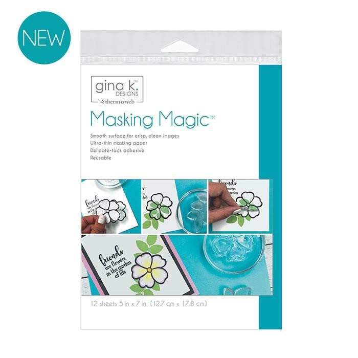 Masking Magic Sheets, Gina K Designs - 000943181231